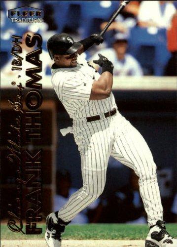 - 1999 Fleer Tradition Baseball Card #34 Frank Thomas