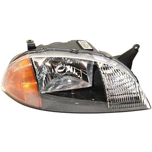 Diften 114-A4269-X01 - 98-01 Chevy Metro Pontiac Firefly Headlights Headlamps Pair Set