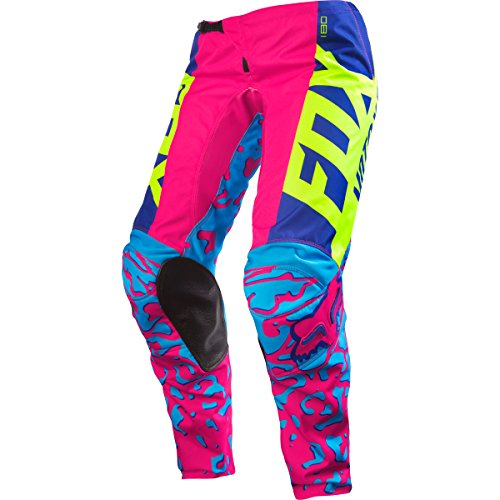 Fox Racing 180 Youth Girls Off-Road Motorcycle Pants - Pink / Size 22