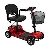 Best Mobility Scooters - 4 Wheel Electric Mobility Power Scooter Travel Transportable Review