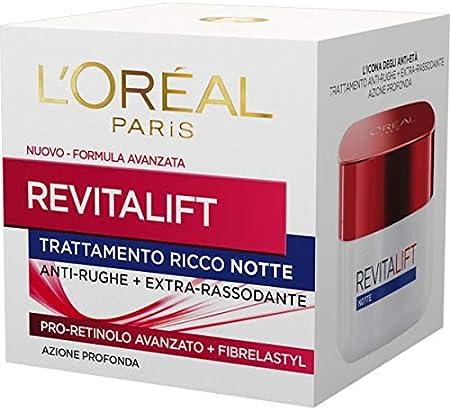 L'OREAL Revitalift Arrugas Noche 50 Ml. - Cremas Y Máscaras Faciales