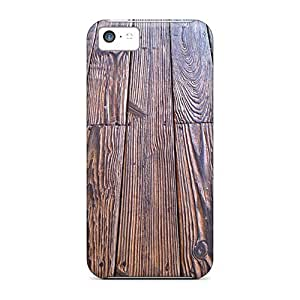 For Iphone Case, High Quality Wood Floor For Iphone 5c Cover Cases