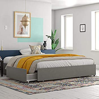 Amazon Com South Shore Step One Platform Bed With 2
