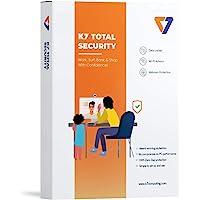 K7 Total Security Antivirus Software 2021 for laptop/pc  1 User, 1 year  Antivirus,Internet security,Data security…