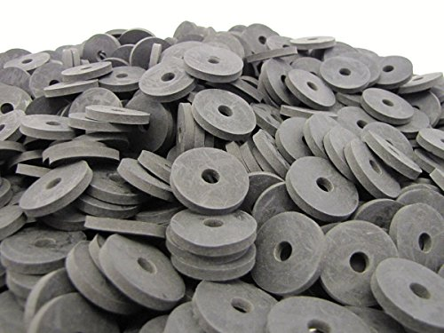 (100) Heavy Duty Abrasion Resistant Rubber Washers in Pop-Up Storage Box - 1