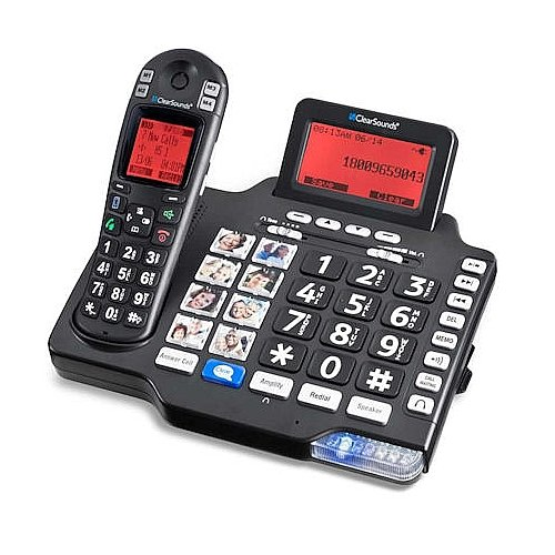 Cell Phone Neckloop (Clearsound A1600BT DECT 6.0 iConnect Expandable Amplified Corded Cordless System with Talking Caller ID, Digital Answering System and Bluetooth Capability)