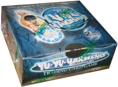 Yu Yu Hakusho Card Game - Ghost Files UNLIMITED Booster Box - 24P10C Yu Yu Hakusho Trading Cards