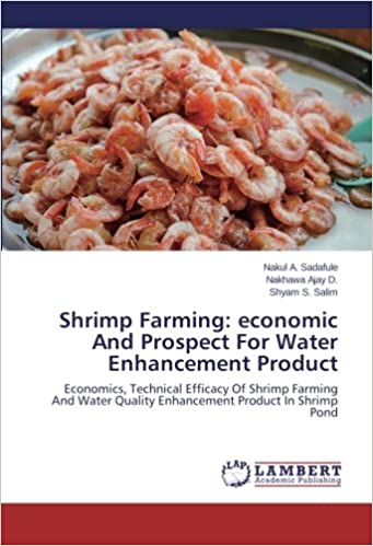 Technical Efficacy Of Shrimp Farming And Water Quality Enhancement Product In Shrimp Pond economic And Prospect For Water Enhancement Product Economics Shrimp Farming