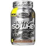 MuscleTech Essential Series 100% Platinum Iso-Whey Gourmet Milk Chocolate: 1.8lb