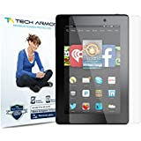 "Tech Armor Kindle Fire HD 6"" Screen Protector, Anti-Glare/Fingerprint Amazon Kindle Fire HD 6"" (Original/Kids) Film Screen Protector [3-Pack]"