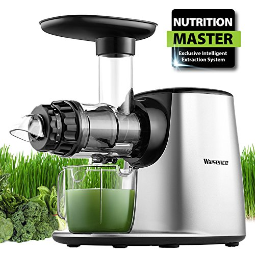 Masticating Juicer, Willsence Slow Juice Extractor, for sale  Delivered anywhere in USA