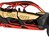 Can Am Maverick X3 MAX Rock Sliders (red)