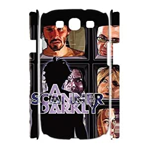 XOXOX Cover Custom A Scanner Darkly Phone 3D Case For Samsung Galaxy S3 I9300 [Pattern-4]