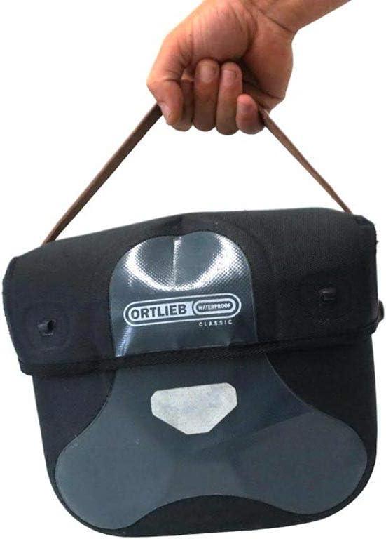 Oopsmark Ortlieb Ultimate Handlebar Bag Strap Brown Leather /…