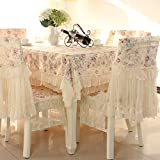 country kitchen tablecloths Country style lace purple grace floral design square tablecloths off white 43