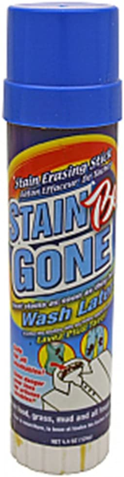 Stain Erasing Pre Laundry Stick - Treat Stains, 4.4 oz,(Stain Be Gone)