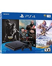 $319 » PlayStation 4 Slim 1TB Solid State Drive Only on PlayStation Console Bundle | Bundle : God of War Game Voucher,Horizon Zero Dawn: Complete Edition Voucher,The Last of Us Remastered Game | Jet Black