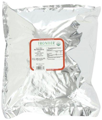 Frontier малина, красный лист C / S Органические, 16 унций мешок