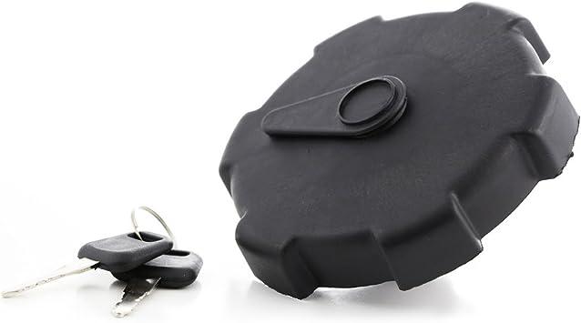 Neuer Schwarz Verriegelter Tankdeckel 80 Mm Für Lkw Mit 2 Schlüssel Auto