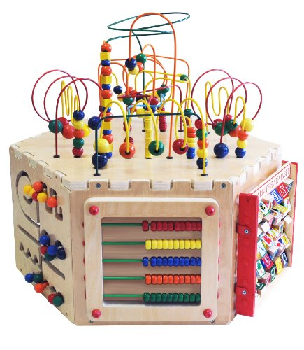 Anatex Six-Sided Play Cube Activity Center by Anatex