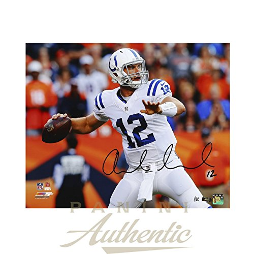 ANDREW LUCK Signed 16 x 20