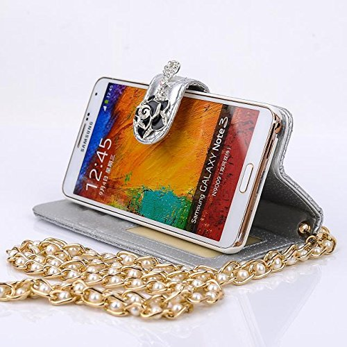 Mybase-2014 Super Bright New Pu Leather Flip Stand Case C...
