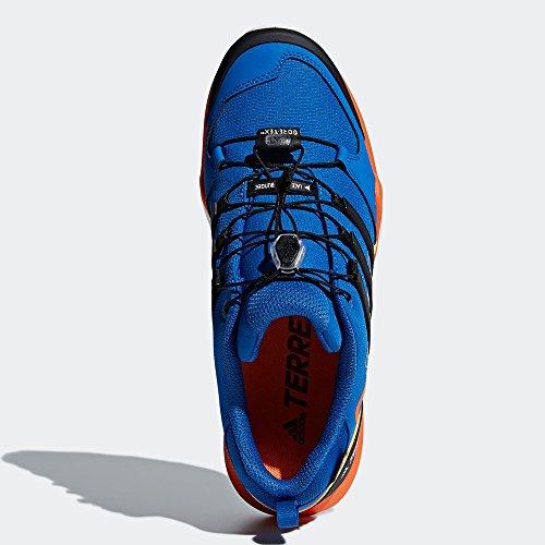 Adidas Mannen Terrex Swift R2 Gtx Trekking & Wandelen Lage Schoenen, Zwart, 50,7 Eu Blauw (acenat / Negbas / Naranj 000)