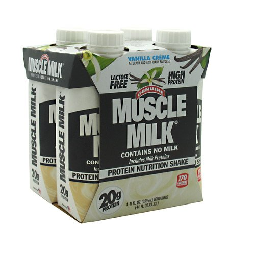 CytoSport Muscle Milk RTD Vanilla Creme 3 - 4 packs [12 - 11 fl oz (330 ml) shakes]