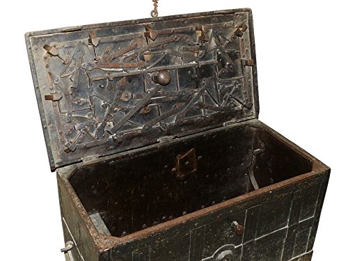 Photography Poster - Chest, Treasure Chest, Middle Ages, 24''x18.5'', Gloss Finish