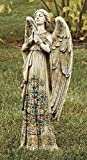Roman Resin-Stone Praying Angel Statues [DS 29011]