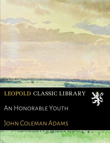 An Honorable Youth PDF