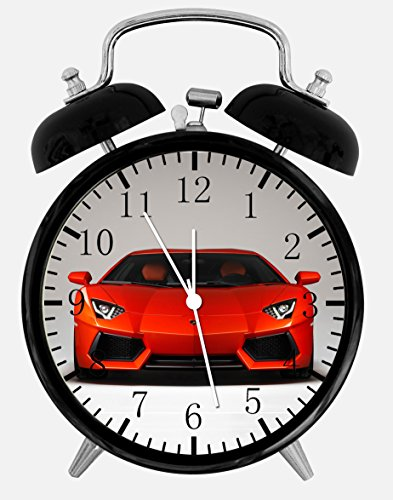 Lamborghini Alarm Desk Clock 3.75'' Home Office Decor Y83 Nice For Gifts by Alarm Clock