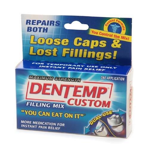 Dentemp Maximum Strength Temporary Filling Mix 1 ea by AB