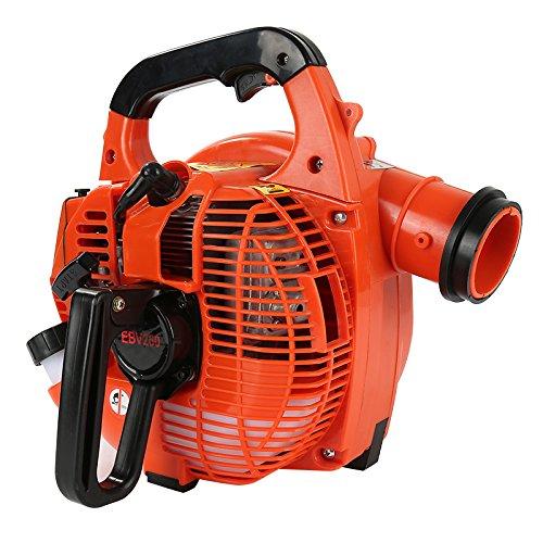 Petrol Leaf Blower,28cc 3-in-1 Electric Mulcher/Vacuum/Shredder,750W Blower by JEOBEST