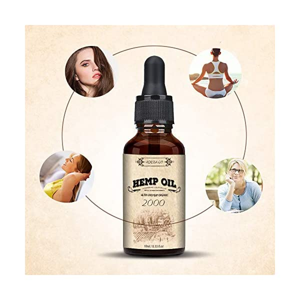 Hemp Oil, High Strength Hemp, Hemp Seed Oil, Made in Slovenia (10%)