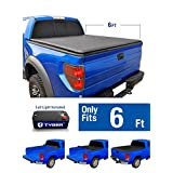 Tyger Auto TG-BC1C9013 TOPRO Roll up Truck Bed Tonneau Cover 2015-2018 Chevy Colorado/GMC Canyon | Fleetside 6' Bed