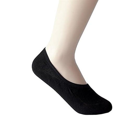 a199fe83bddbb 1 Pair Women's Thin Cotton Sock Invisible Boat-type Socks Breathable Non  Slip Hidden Flat
