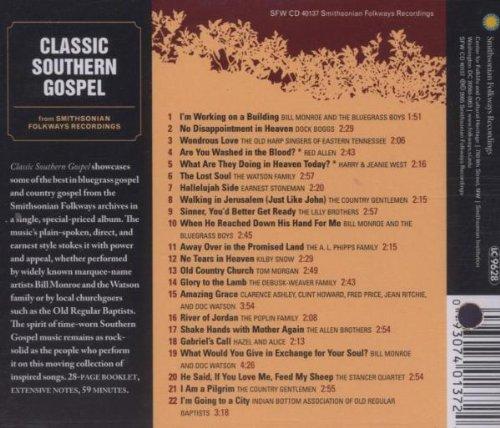 Classic Southern Gospel (From Smithsonian Folkways)
