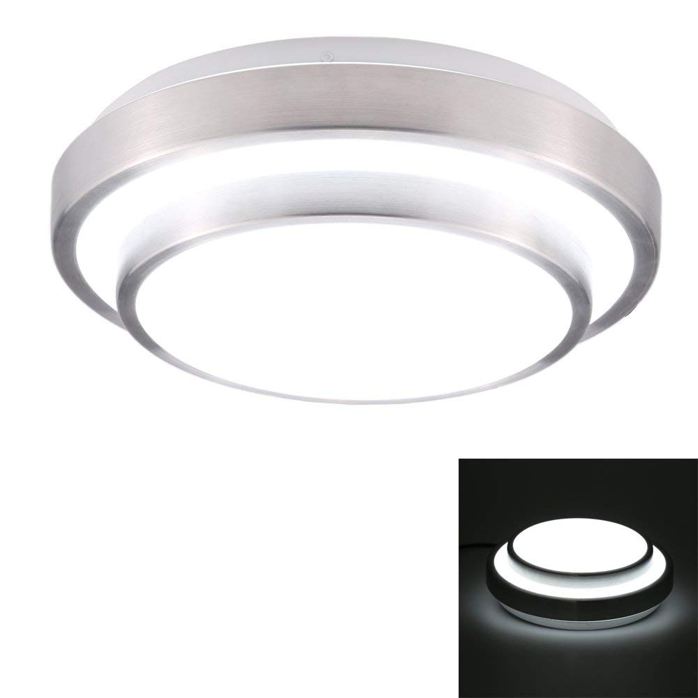 Docooler 18W 110-240V LED Flush Mount Ceiling Light Modern