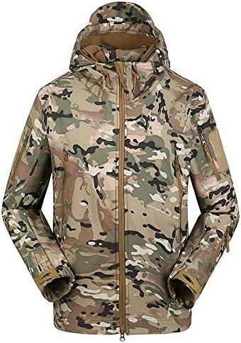 t/áctica de lana para hombre con forro polar y cremallera completa Chaqueta con capucha FREE SOLDIER