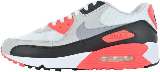 huge discount c4d35 6d6c5 Air Max 90 Retro 325018-107 Grey Running Shoes. Nike Air Max 90 ...