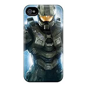 Hard Plastic Iphone 5/5s Case Back Cover,hot Master Chief In Halo 4 Case At Perfect Diy