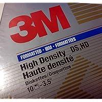 """3M High Density 3.5"""" Floppy Disks, pack of 10"""