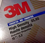 3M High Density 3.5'' Floppy Disks, pack of 10