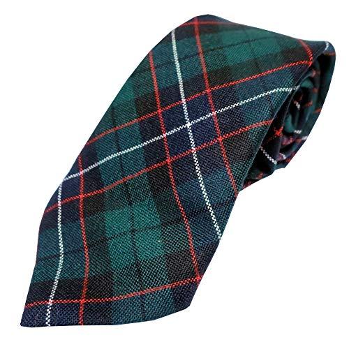 (Ingles Buchan Mens Scottish Wool Tartan Tie Ferguson Modern)