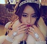 TOKYO-T Great Gatsby Headpieces for Women Tiara