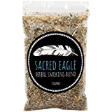 Sacred Eagle Herbal Smoking Blend with Unbleached Hemp Rolling Papers (1 oz Refill Bag)