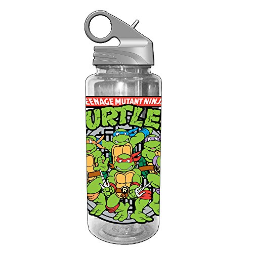 Base Cleaner Liquid - Silver Buffalo NT1764 Nickelodeon Teenage Mutant Ninja Turtles Group Shot Tritan Water Bottle, 20-Ounces