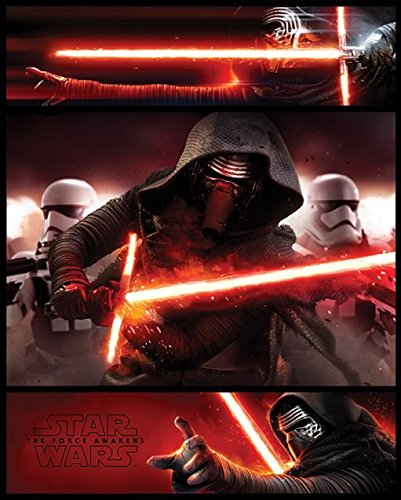 Star Wars Episode VII Mini Poster Pack Kylo Ren Panels 40 x 50 cm (5) Pyramid