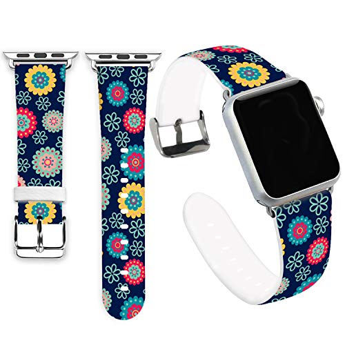 Beautiful Mum - Mum Bands for iWatch 40mm/38mm,Jolook Soft Leather Sport Style Replacement Band Strap for iWatch 40mm Series 4 Series 1/2/3 38mm - Beautiful Mum
